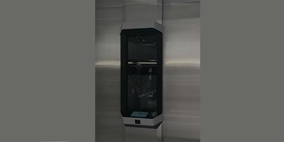 Les Lockers robotisés Cleveron chez Zara